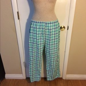 butterfly Intimates   Sleepwear - Butterfly pajama set blue white button up 60b6a8003